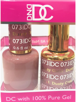 DC Gel Polish DUSTY CORAL - 073