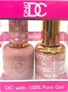 DC Gel Polish STRAWBERRY LATTE - 077