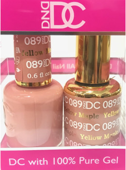 DC Gel Polish YELLOW MAPLE - 089