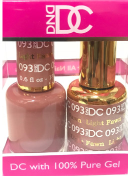 DC Gel Polish LIGHT FAWN - 093