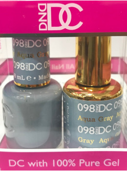DC Gel Polish AQUA GRAY - 098