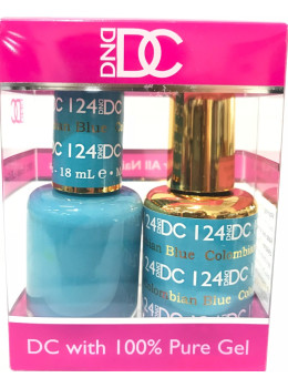 DC Gel Polish COLUMBIAN BLUE - 124