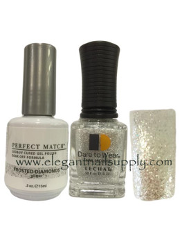 LeChat Perfect Match Gel Polish DUO SETS - Frosted Diamonds PMS163