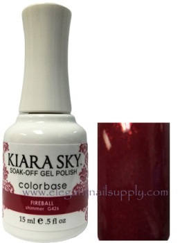 Kiara Sky Gel Polish FIREBALL - G426