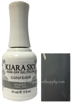Kiara Sky Gel Polish STYLELETTO - G434