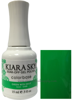Kiara Sky Gel Polish GREEN WITH ENVY - G448