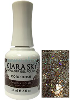 Kiara Sky Gel Polish CHOCOLATE GLAZE