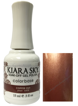 Kiara Sky Gel Polish COPPER OUT
