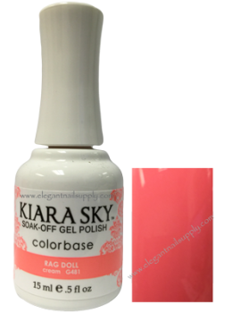 Kiara Sky Gel Polish RAG DOLL