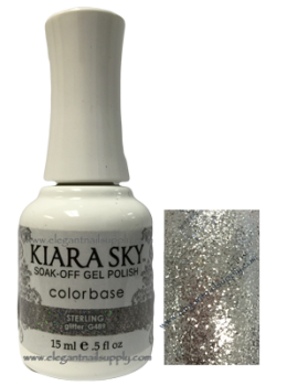 Kiara Sky Gel Polish STERLING