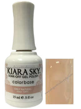Kiara Sky Gel Polish ONLY NATURAL