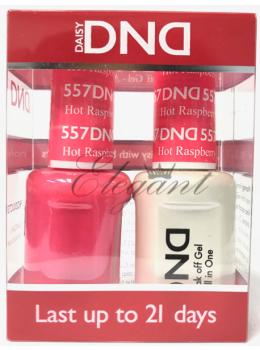 DND Gel Polish HOT RASPBERRY 557