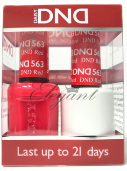 DND Gel Polish DND RED 563