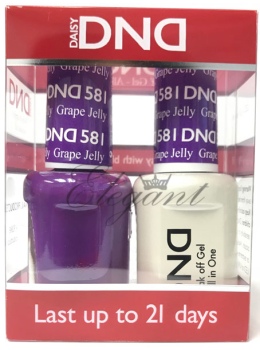 DND Gel Polish GRAPE JELLY 581