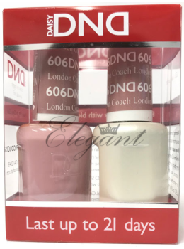 DND Gel Polish LONDON COACH 606