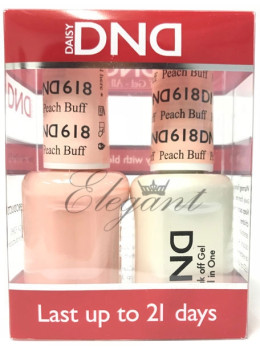 DND Gel Polish PEACH BUFF 618