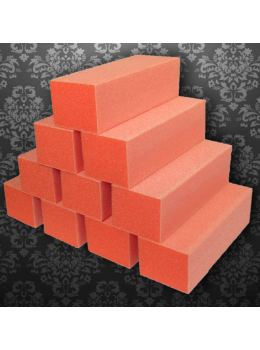 Dixon Regular Nail Buffer Orange White 80/80 Grit