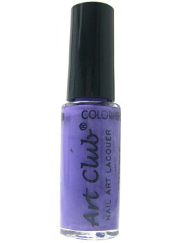 Color Club Nail Art Stripers Polish Plum Luck