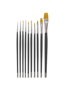 10 PCS Pro Nail Art Brush Set DL-C69
