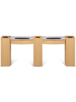 Classic Double Manicure Table