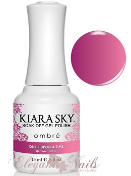 Kiara Sky Ombre Color Changing Gel Polish ONCE UPON A TIME - G11