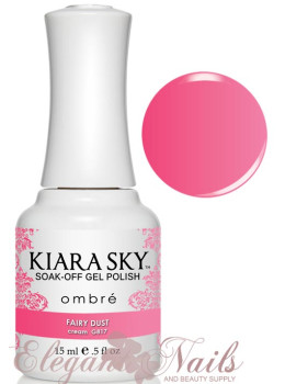 Kiara Sky Ombre Color Changing Gel Polish  FAIRY DUST - G817