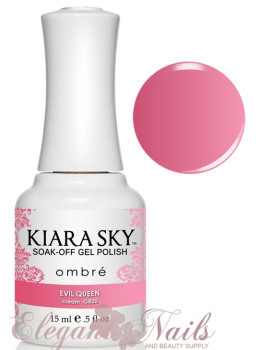 Kiara Sky Ombre Color Changing Gel Polish EVIL QUEEN - G820