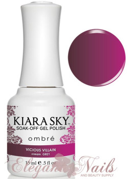 Kiara Sky Ombre Color Changing Gel Polish VICIOUS VILLAIN - G821