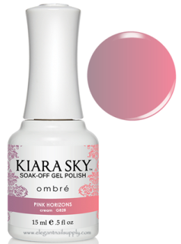 Kiara Sky Ombre Color Changing Gel Polish PINK HORIZONS - G828