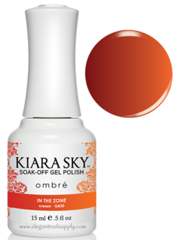Kiara Sky Ombre Color Changing Gel Polish  IN THE ZONE - G830