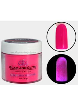 Glam and Glits Glow Acrylic Powder GL2013 ELECTRIFYING