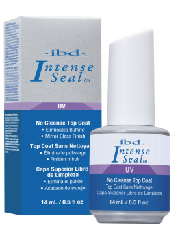 IBD Intense Seal UV Gel Seal Mirror Finish No Cleanse