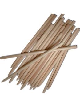 Short Orange Wood Stick