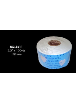 Apollo Bleached Muslin 3.5″ wide x 100 yrd