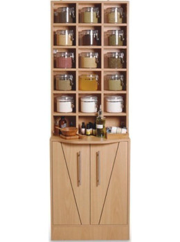 Mini Herbal Display Cabinet