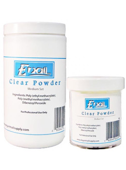 E-Nail Clear Acrylic Powder