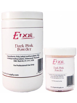 E-Nail Dark Pink Acrylic Powder