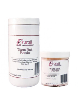 E-Nail Warm Pink Acrylic Powder