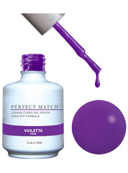 LeChat Perfect Match Gel Polish DUO SETS - Violetta  PMS102