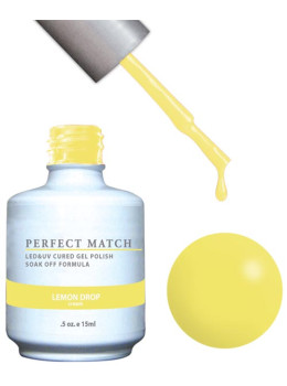 LeChat Perfect Match Gel Polish DUO SETS - Lemon Drop PMS118