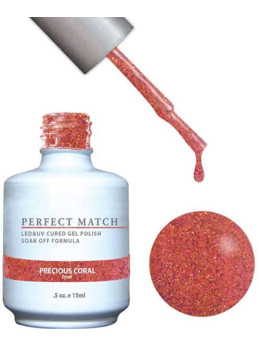LeChat Perfect Match Gel Polish DUO SETS - Precious Coral PMS124