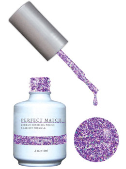 LeChat Perfect Match Gel Polish DUO SETS - Violet Vixen PMS136