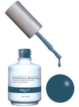 LeChat Perfect Match Gel Polish DUO SETS - Windy City PMS142