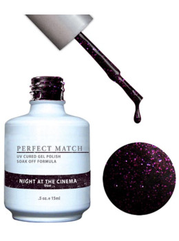 LeChat Perfect Match Gel Polish DUO SETS  - Night at the Cinema PMS81