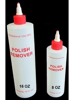 Polish Remover Plastic Bottle