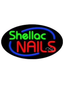 Shellac Nails #11476