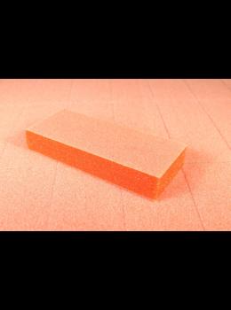 Dixon Slim Nail Buffer Orange White 80/100 Grit