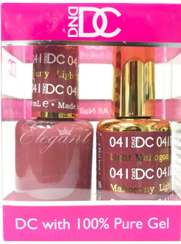 DC Gel Polish LIGHT MAHOGANY - 041