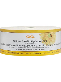 GiGi - Natural Muslin Roll (3.25 x 100yd # 0628)