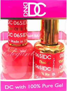 DC Gel Polish THAI CHILI RED - 065